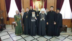 Με Ιεράρχη του Πατριαρχείου Μόσχας συναντήθηκε ο Ιεροσολύμων Θεόφιλος