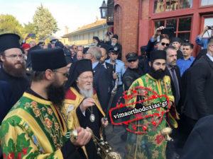 Σύσσωμο το Αγιον Ορος υποδέχθηκε τον Πατριάρχη Βαρθολομαίο – Και 20 Μονές παρών