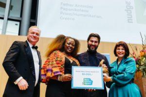 Διεθνές βραβείο για τον π. Αντώνιο και την «Κιβωτό του Κόσμου»