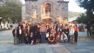Ιερά Παράκληση στην Ιερά Μονή Αγίου Γεωργίου Αρμά Φύλλων Χαλκίδος