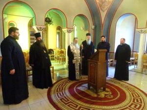 Τρισάγιο για τον Αρχιεπίσκοπο Χριστόδουλο στην Κόρινθο