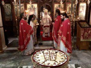 Εξάμηνο Μνημόσυνο μακαριστού Ηγουμένου της Ιεράς Μονής Μακαριωτίσση
