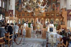 Μνημόσυνο για τον Μακαριστό Χριστόδουλο στη Χαλκίδα