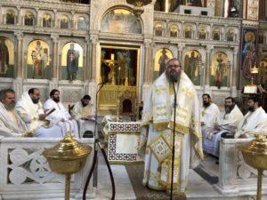 Αρχαιοπρεπής Θεία Λειτουργία από τον Λαρίσης Ιερώνυμο