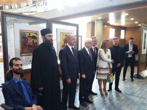 Εγκαίνια έκθεσης «Ο Άγιος Δημήτριος στην τέχνη του Αγίου Όρους» στη Θεσσαλονίκη