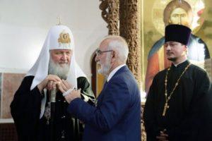 Ο Μόσχας Κύριλλος τίμησε τον Ιβάν Σαββίδη