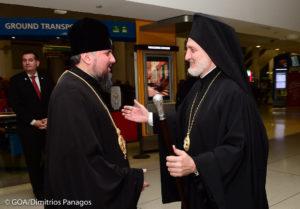 ΝΕΑ ΥΟΡΚΗ: Ο Αρχιεπίσκοπος Αμερικής υποδέχθηκε τον Κιέβου Επιφάνιο