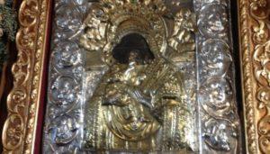 Ι.Μ.Πειραιώς: Υποδοχή της Παναγίας της Παναχράντου από την Άνδρο