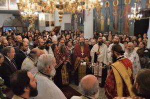 Θεία Λειτουργία για την Αγία Χρυσή στην πατρίδα της παρουσία της Παναγίας της Μηλιώτισσας