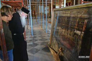 Ξεκίνησαν οι εργασίες στον Άγιο Νικόλαο Ναυπλίου