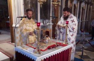 Χαλκίδα: Η Αρχαιοπρεπής Θεία Λειτουργία του Αγίου Ιακωβου στον Ι.Ν Αγίας Παρασκευής