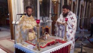 Αρχαιοπρεπής Θεία Λειτουργία του Αγίου Ιακώβου στην Αγία Παρασκευή Χαλκίδος
