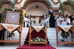 Ο Σταυρός των Κομνηνών στον Αγιο Δημήτριο Αττικής (ΦΩΤΟ)
