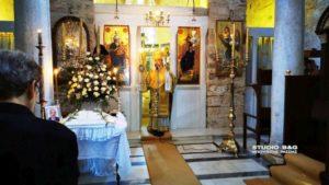 Στην Αγία Μονή στο Ναύπλιο ο Σπάρτης Ευστάθιος (ΒΙΝΤΕΟ & ΦΩΤΟ)