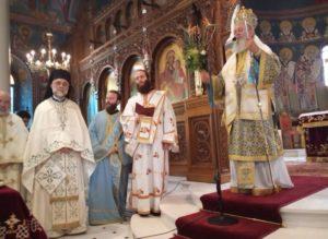 Η εορτή του Ευαγγελιστού Λουκά και χειροτονία Διακόνου στην Ι.Μ. Χαλκίδος