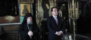 Εγκώμια των Αγιορειτών – Ιεράς Κοινότητας στον απερχόμενο Διοικητή Κώστα Δήμτσα