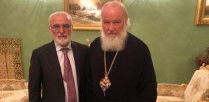Συνάντηση του Πατριάρχη Μόσχας με τον Ιβάν Σαββίδη