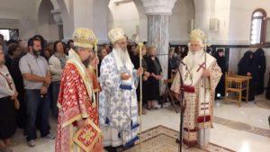 Μνημόσυνο για τον Επίσκοπο Τανάγρας κυρό Πολύκαρπο