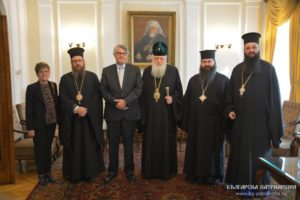 Στον Πατριάρχη Βουλγαρίας ο Ελληνας Πρέσβης (ΦΩΤΟ)