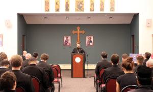 Νέα Υόρκη: Ο Βολοκολάμσκ Ιλαρίων στην Θεολογική Σχολή Αγίου Βλαδιμήρου