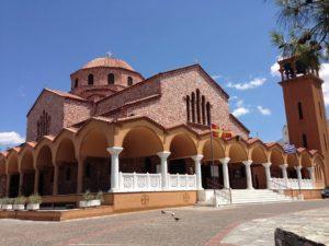 Αγρυπνία για τα Εισόδια της Θεοτόκου στην Φανερωμένη Χολαργού