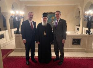 Στον Πατριάρχη Σερβίας Ειρηναίο ο Σάμ Μπράουνμπακ