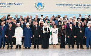 Σύνοδος Κορυφής Παγκόσμιων Θρησκευτικών ηγετών στο Αζερμπαϊτζάν (ΦΩΤΟ)