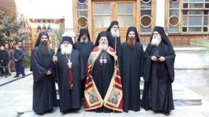 Ο Κερνίτσης Χρύσανθος στην Ιερά Μονή Αγίου Παύλου Αγίου Ορους (ΦΩΤΟ)