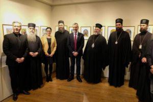 Εγκαινιάστηκε έκθεση για τον Αγιο Σάββα τον Χιλανδαρινό στη Θεσσαλονίκη (ΦΩΤΟ)