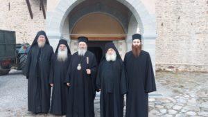 Ο Κερνίτσης Χρύσανθος σε προσκυνήματα του Αγίου Ορους (ΦΩΤΟ)