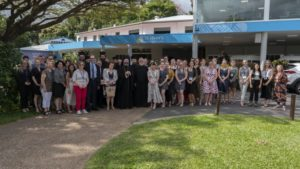 Ο Αρχιεπίσκοπος Μακάριος στην τροπική Αυστραλία (ΦΩΤΟ)