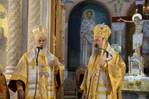 Ο Καλαβρύτων Ιερώνυμος στον Αγιο Ανδρέα Πατρών (ΦΩΤΟ)