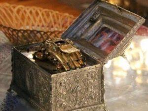 Υποδοχή Τιμίας Χειρός Αγ. Ιωάννου Χρυσοστόμου στα ονομαστήρια του Μητροπολίτου Μεσσηνίας