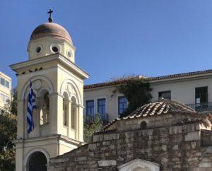Τοποθετήθηκε εκ νέου ο Σταυρός στο Ναό της Παντανάσσης στην Αθήνα (ΦΩΤΟ)