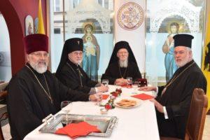 ΒΕΛΓΙΟ : Ο Πατριάρχης Βαρθολομαίος με τον Αρχιεπίσκοπο Βρυξελλών του Πατριαρχείου της Μόσχας