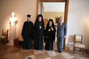 Συνάντηση του Οικουμενικού Πατριάρχη με τον βασιλιά του Βελγίου (ΦΩΤΟ)