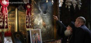 ΑΓΙΟΝ ΟΡΟΣ: Εορτασμός του Αγίου Γεωργίου στη Μονή Ζωγράφου παρουσία του Βούλγαρου προέδρου
