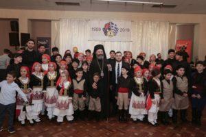 Συγκινητική εκδήλωση των Κρητικών της Αυστραλίας παρουσία του Αρχιεπισκόπου Μακαρίου