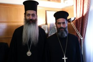 Ο Αρχιεπίσκοπος παρουσίασε το νέο Πρωτοσύγκελλο της Ιεράς Αρχιεπισκοπής