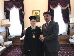 Συναντήσεις για τον Οικουμενικό Πατριάρχη στο Φανάρι (ΦΩΤΟ)