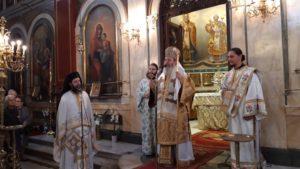 Θεία Λειτουργία στο Μητροπολιτικό Ναό Πατρών από τον Επίσκοπο Κερνίτσης