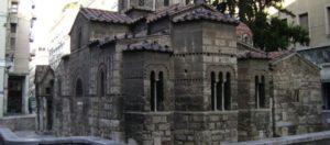 Εισόδια της Θεοτόκου: Το εκκλησάκι στην Καπνικαρέα