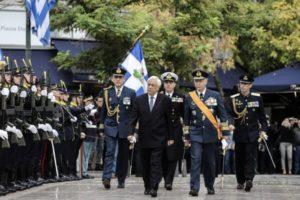 Μητρόπολη Αθηνών : Οι Ενοπλες Δυνάμεις τίμησαν τα Εισόδια της Θεοτόκου