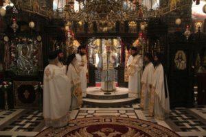 Εορτάστηκε η θαυματουργός εικόνα Παναγία η Εσφαγμένη στο Τρίκορφο