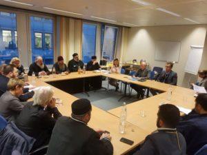 Αντιπροσωπεία του Πατριαρχείου Γεωργίας στις Βρυξέλλες (ΦΩΤΟ)