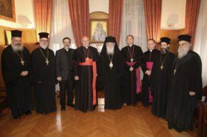 Συναντήσεις του Αρχιεπισκόπου με Ρωμαιοκαθολικούς, ΔΣΟ και πολιτικούς (ΦΩΤΟ)