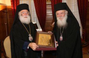 Επίκεντρο το ουκρανικό στη συνάντηση Ιερώνυμου – Θεόδωρου