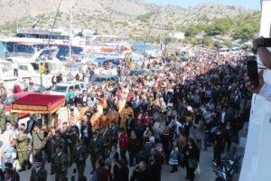 Σύμη: Πάνω από 13.000 πιστοί προσκύνησαν τον Πανορμίτη