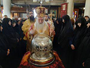 ΑΙΓΙΝΑ ΣΗΜΕΡΑ : Λιτανεία με τα Ιερά Λείψανα του Αγίου Νεκταρίου Πενταπόλεως του Θαυματουργού