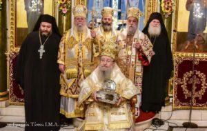 Αρχιερατικό Συλλείτουργο για τον Αγιο Ιωάννη Χρυσόστομο στη Θεσσαλονίκη (ΦΩΤΟ)